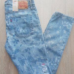 Levis 510 Skinny Jeans Light Wash camo